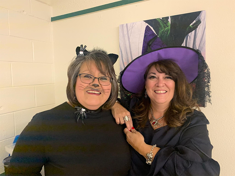 Las Vegas Staff at Halloween Child Find Event