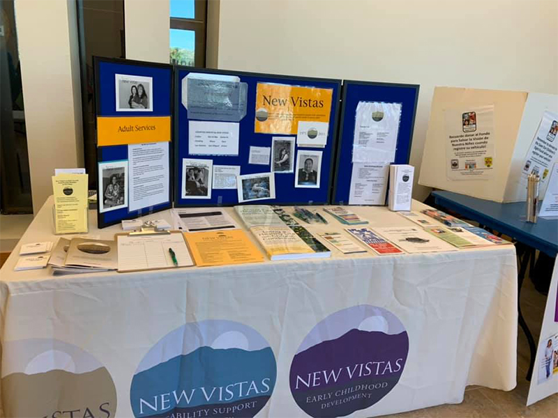 Informational Table at Community Resource Fair